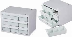 Casier De Rangement : casier de rangement outils acier 9 tiroirs plastique mobilier d 39 atelier ~ Teatrodelosmanantiales.com Idées de Décoration