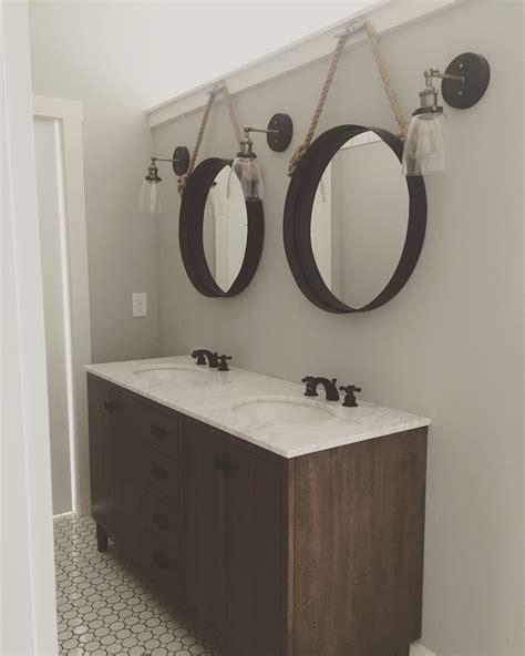 Modern Vintage Bathroom Lighting by Modern Farmhouse Master Bathroom Boat Cleats Porthole