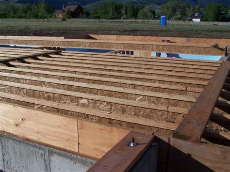 Subfloor Preparation  Cowboy Log Homes