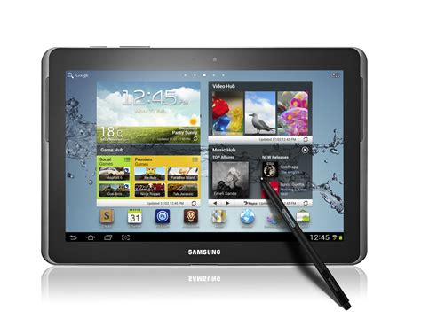 Samsung Note 10 1 samsung galaxy note 10 1 revealed at mwc