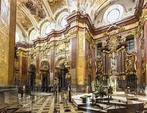 St. Peter And Paul Church In Melk Abbey Editorial ...