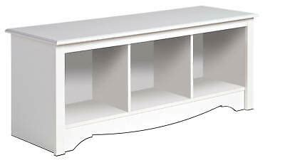 New White Prepac Large Cubbie Bench Storage Usd