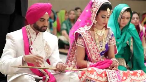 Sikh Wedding Highlights 2015 By
