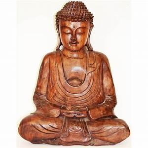 Statue De Bouddha : statue bouddha position de m ditation 40 cm meubles ~ Teatrodelosmanantiales.com Idées de Décoration