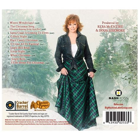 reba mcentire christmas reba mcentire my kind of christmas cd collections