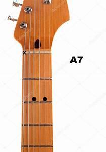 A7 Guitar Chord Diagram  U2014 Stock Photo  U00a9 Deepspacedave  5347429