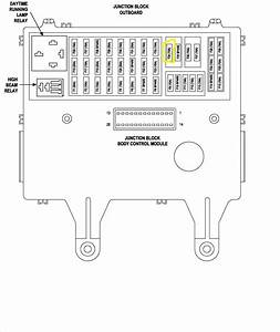 2003 Jeep Liberty Fuse Panel Diagram