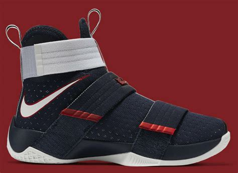 nike lebron soldier  usa sole collector