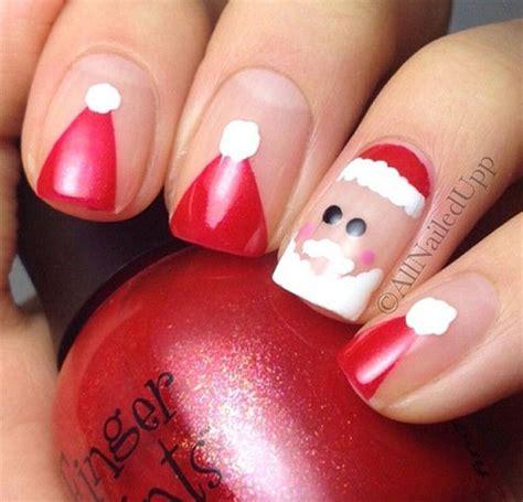 santa hat nail art designs ideas trends stickers
