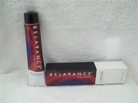 Lanza Belavance Permanent Hair Color (level 7-10) 3 Oz ~u