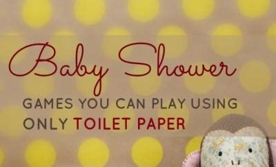 baby shower games   play    roll  toilet