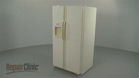 ge refrigerator disassembly refrigerator repair  youtube