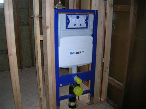 install geberit wall hung toilet wall hung toilets plumbing contractor talk