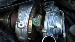 Oil Cooler Replacement  1   Remove Turbo From 2005 F250 6 0l Powerstroke Diesel