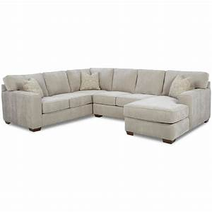 Klaussner Webster Contemporary Sectional Group Pilgrim