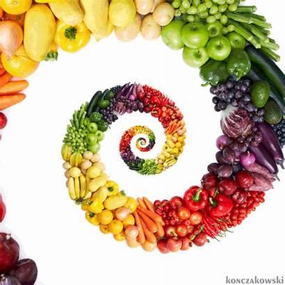 Veggies Vegetables Fruits Rainbow Zucchini Healthy Loop