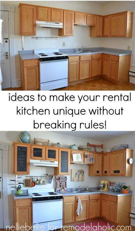 Kitchen Decorating Ideas For Renters by 25 Best Ideas About Rental Kitchen On Tiny