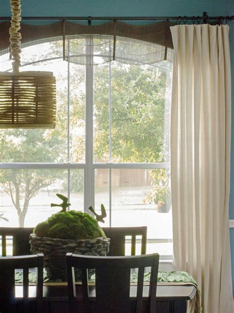 how to dress corner windows drapery window treatment ideas hgtv