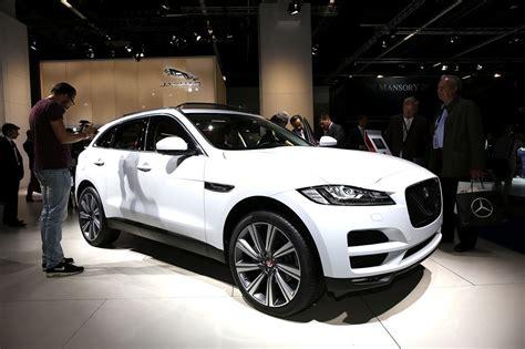 francfort  fiches techniques du nouveau suv jaguar
