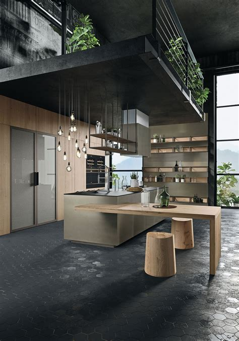 industrial modern kitchen designs international recognition for snaidero the winner of the 4676