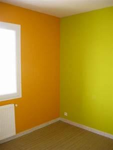 Orange Et Vert Dunkerque : peinture et sols int rieur chambres orange page 2 2 ~ Dailycaller-alerts.com Idées de Décoration