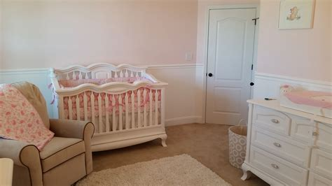 Baby Girl Room Conversion  Completion Baby Girl Nursery