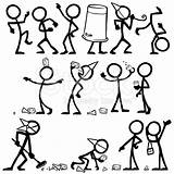 Stick Figure Drunk Figures Drawing Vector Clip Partying Illustration Coloring Illustrations Clipart Drawings Cartoons Having Cartoon Stickfigures Istockphoto Painting Sketch sketch template