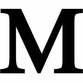 black wrought iron letter m 3 sises timeless wrought iron With giant letter m