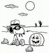 Coloring Snoopy Halloween Charlie Brown Printable Teens Children Nature Batman Monster Popular Coloringhome sketch template