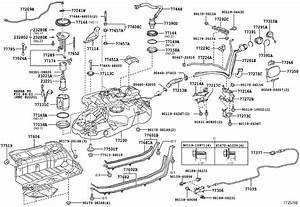 Toyota Highlander Evaporative Emissions System Lines  Hose