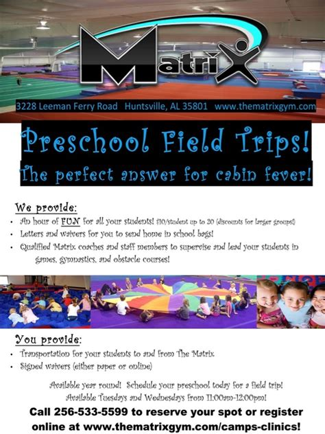 preschool field trips the matrix huntsville al 999 | 3583531 orig