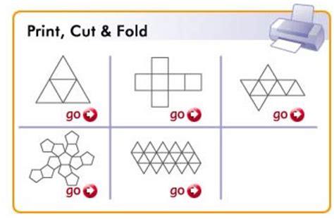 interactives  shapes platonic solids