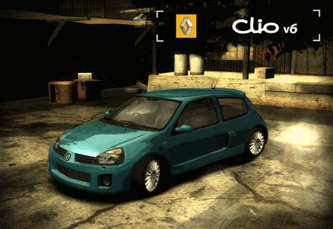 renault clio v6 nfs carbon image renault clio ii v6 png need for speed wiki