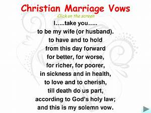 marriage wedding vows christian marriage vowsi love With bible verses for wedding ceremony