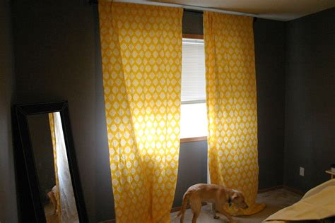 polka dot yellow curtains for bedroom yellow