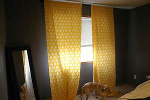 image of polka dot yellow curtains for bedroom curtains With yellow curtains grey walls