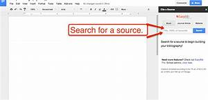 free technology for teachers how to create a bibliography With google docs add bibliography