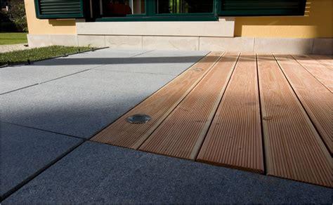 Terrassengestaltung Holz Und Stein by Terrassengestaltung Mit Holz Und Stein Klick Fliesen Fotos