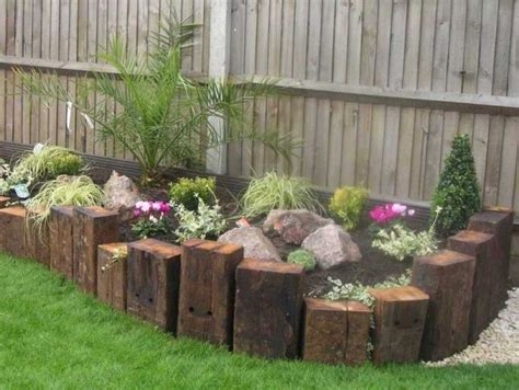 images of raised flower beds raised flower beds railway sleepers plants garden pinterest