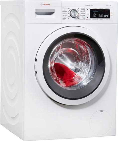 bosch serie 8 waschmaschine bosch waschmaschine serie 8 waw287v0 a 9 kg 1400 u min kaufen otto