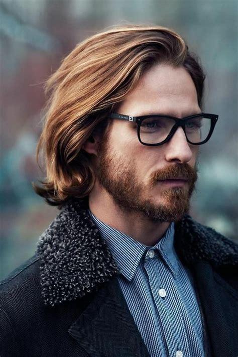 semi long hairstyles for men men s beard style in 2019