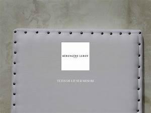Tete De Lit Cloutée : tete de lit cloutee en lin blanc nomade realisations ~ Teatrodelosmanantiales.com Idées de Décoration