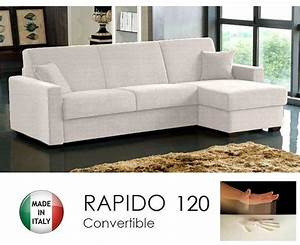 canape d39angle convertible rapido 120cm dreamer tissu With nettoyage tapis avec canape convertible rapido dreamer