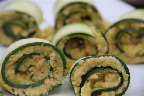 nibbles and canapes canapés courgette rolls filled with saffron and spice