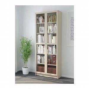 Bibliothèque Vitrée Ikea : billy biblioth que avec portes beige porte vitr e ikea et portes ~ Teatrodelosmanantiales.com Idées de Décoration