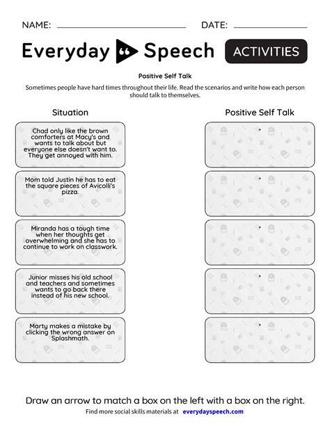Worksheet Positive Thinking Worksheets Grass Fedjp Worksheet Study Site