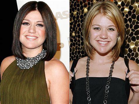 Kelly Clarkson Hair Colors