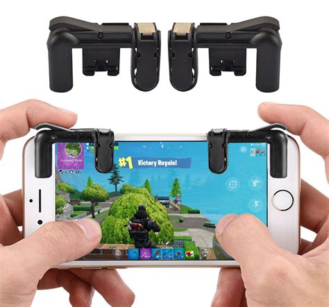 trigger buttons  fortnite pubg mobile game controller