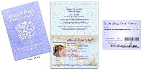 passport  destination wedding lavender custom