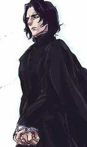 """severus-snape-my-eternal-prince: """" Artwork by クガバン ..."""